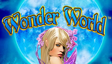 Play Wonder World Slots game Novomatic