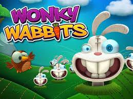 Wonky Wabbits Slots game NetEnt