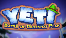 Play Yeti Battle of Greenhat Peak Slots game Thunderkick