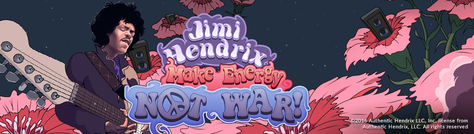 Jimi Hendrix Slot - Energy Casino