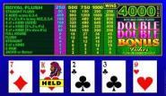 Double Double Bonus Joker Video Poker