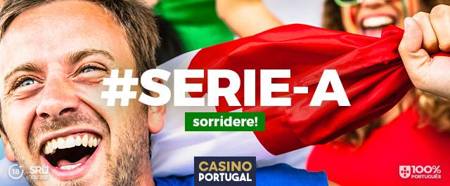 Casino Portugal - Apostar em Futebol - Serie A - com bónus grátis