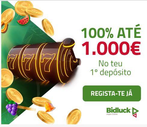 Bónus do casino Bidluck Portugal