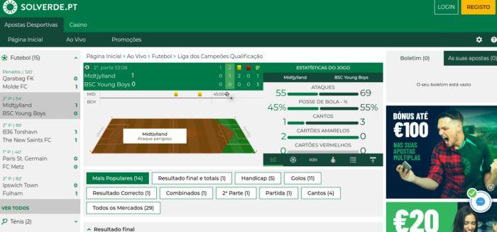 Casino Solverde - apostas desportivas