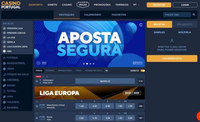 CasinoPortugal - apostas em desportes com freebet