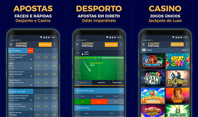 CasinoPortugal em Dispositivo Móvel - iPhone e telemóveis Android