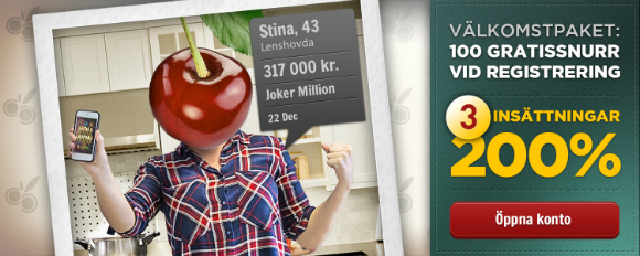 Cherry Casino svenska