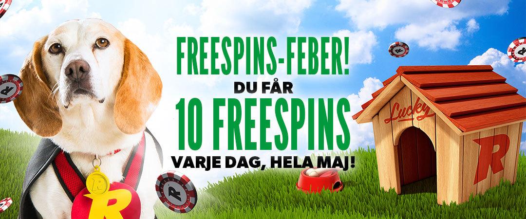 Rizk Casino Sverige GRATISSPINN