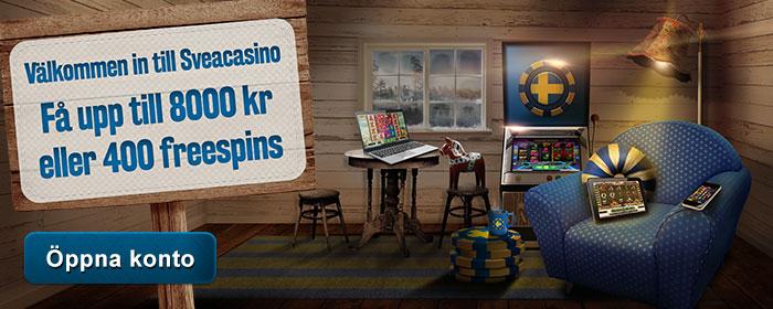 Svea Casino svenska